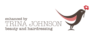 Trina Johnson beauty and hairdressing logo